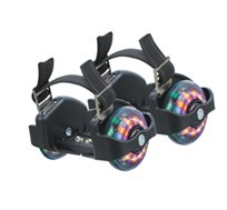 מי שמתעייף מתגלגל! גלגליות FLASHING ROLLER, מתלבשות על כל נעל ומתאימות לכל אחד ילד ומבוגר