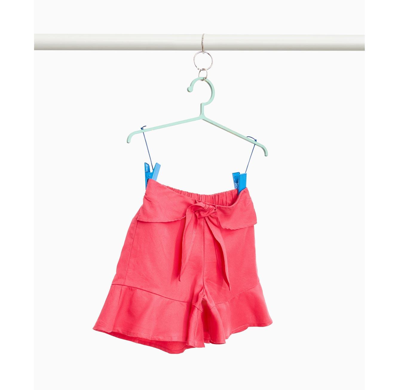 מכנסי שורט OVS לילדות - אדום