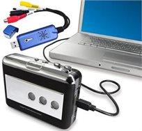 """ממיר קלטות וידאו לקבצי מחשב ו-DVD. מאפשר להמיר כל קלטת VHS או 8 מ""""מ לסרט DVD/VCD/AVI"""