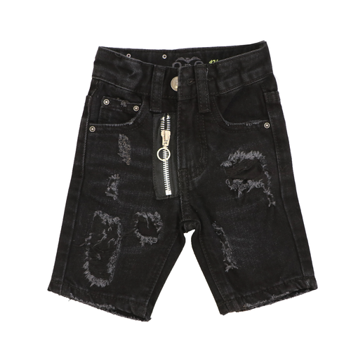 Oro ג'ינס(12 חודשים -16 שנים) - ברמודה פאטצ' רוכסן שחור