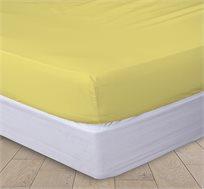 מצעי ג'רסי מיקס צהוב 100% כותנה סרוקה במגוון מידות לבחירה VARDINON
