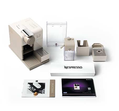 מכונת קפה NESPRESSO לטיסימה Touch בצבע לבן דגם F521 נספרסו - משלוח חינם - תמונה 6