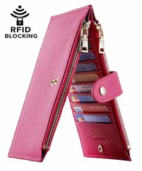 Lambo Wallet Multi Card Case Rose