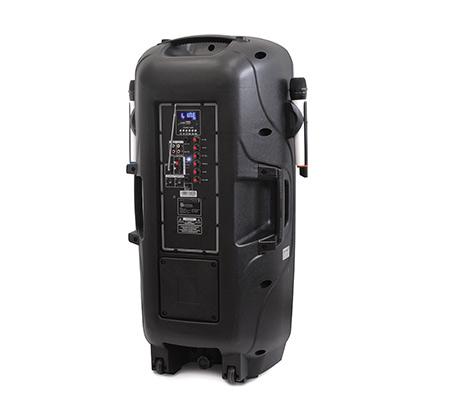 מדהים בידורית 600W עם 2 מיקרופונים אלחוטיים רמקול נייד בלוטוס עם 2 KS-76