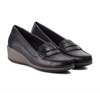 נעלי מוקסין GEOX לנשים D ARETHEA B - CROC.PR.LEA+SYNT - צבע לבחירה