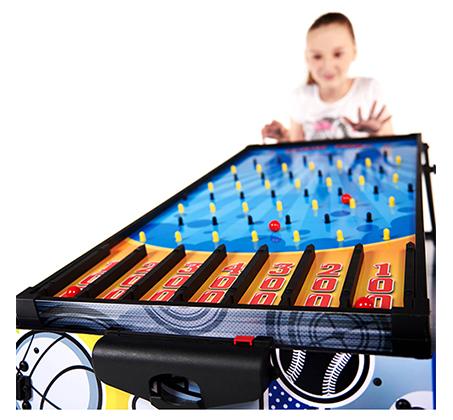 שולחן משחקים המכיל 13 משחקים שונים לחווית משחק משפחתית - תמונה 6