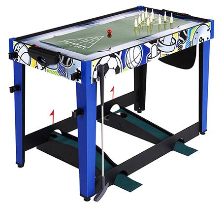 שולחן משחקים המכיל 13 משחקים שונים לחווית משחק משפחתית - תמונה 2