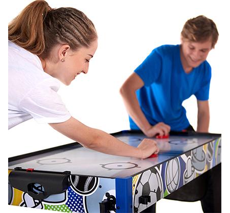 שולחן משחקים המכיל 13 משחקים שונים לחווית משחק משפחתית - תמונה 5