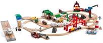 סט רכבות בינלאומי דלוקס 106 חלקים