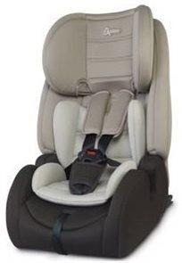 כסא בטיחות משולב בוסטר Advance עם 2 זויות ישיבה וחיבור איזופיקס - בז'