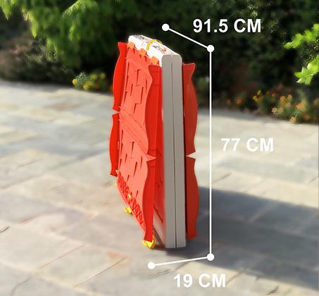 בית ילדים מתקפל מפלסטיק למרפסת או לחצר תוצרת ישראל מנגנון קיפול ייחודיי לאחסון קל ומהיר S-free - משלוח חינם - תמונה 7