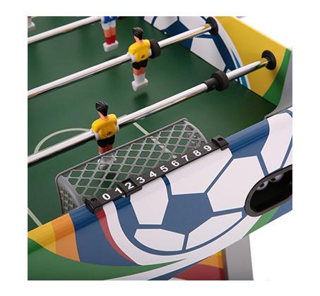 שולחן כדורגל COMBAT עשוי MDF עם ציפוי דקורטיבי - תמונה 5