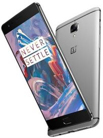 """סמארטפון ONE PLUS 3T גודל מסך """"5.5 אחסון פנימי 64GB מצלמה 16MP"""