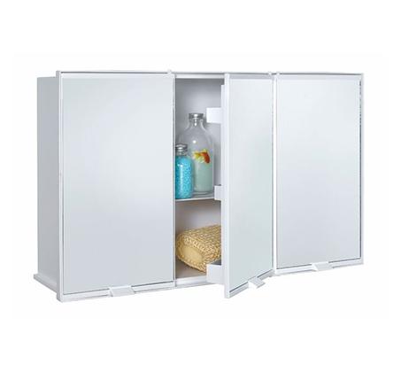 ארון אמבטיה דגם כלנית עם שלוש דלתות ומראות