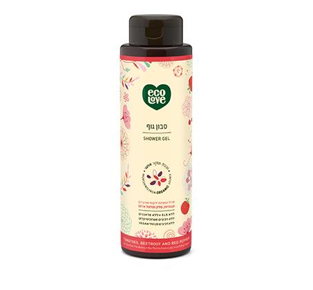 """סבון טבעי לגוף 500 מ""""ל ecoLove"""