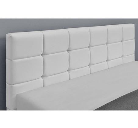 מיטה זוגית בריפוד דמוי עור ובסיס עץ מלא בעיצוב מודרני דגם עומר HOME DECOR  - תמונה 3