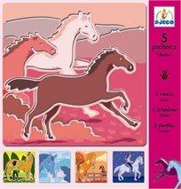 שבלונות - סוסים