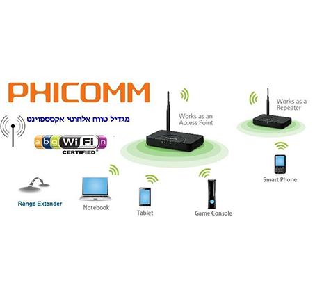 מגדיל טווח קליטה ושידור אלחוטי של רשת האינטרנט עד פי 3 ויותר, לבית או לעסק בהתקנה פשוטה, רק ב-₪199! - תמונה 4