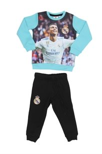 Real Madrid ילדים // סט פוטר רונאלדו כחול