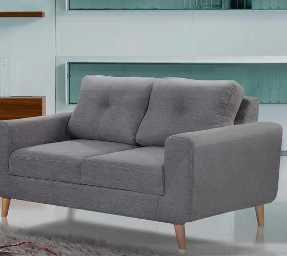 ספת תלת ודו מושבית מבד בעיצוב מודרני נוח ואיכותי דגם ליבורנו מסדרת דגמי 2018 LEONARDO - תמונה 2