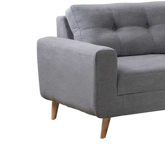 ספת תלת ודו מושבית מבד בעיצוב מודרני נוח ואיכותי דגם ליבורנו מסדרת דגמי 2018 LEONARDO - תמונה 6