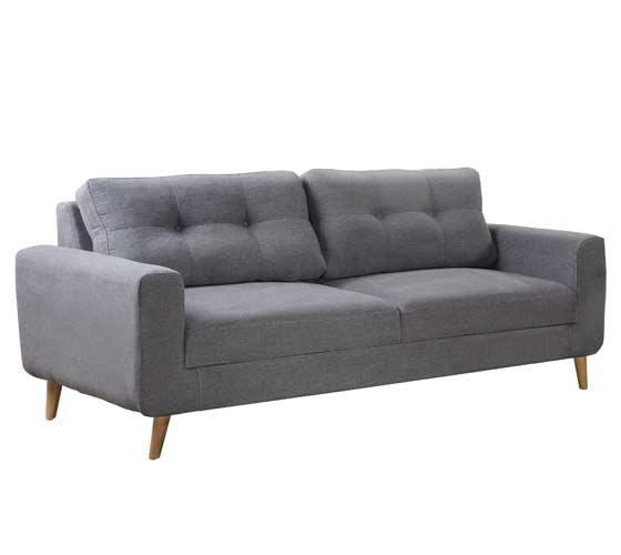 ספת תלת ודו מושבית מבד בעיצוב מודרני נוח ואיכותי דגם ליבורנו מסדרת דגמי 2018 LEONARDO - תמונה 4