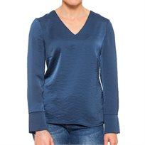 חולצת סרינה כחולה