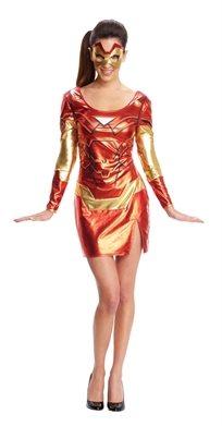 מיס איירון מן בשמלה נוער נשים