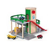 משחק חניון לילדים הכולל מכוניות משחק
