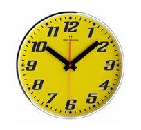 שעון מחוגים בצבע צהוב  OLIVER HEMMING