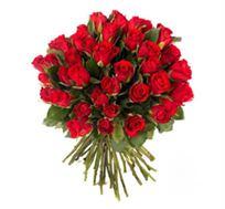 לרגעים יפים יותר! זר ורדים אדומים, מרשים ומיוחד המורכב מורדים איכותיים