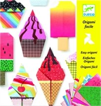 יצירה - אוריגאמי גלידות - Djeco