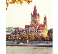 קסם של וינה, טוסו לבירת אוסטריה עם 'אל על' ל-3 או 4 לילות במלון 4 כוכבים החל מכ-$420*