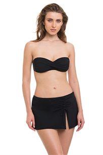 תחתון בגד ים חצאית קצרה TURKIZ - שחור
