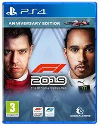 F1 2019 Anniversary Edition Ps4 פורמולה 1 אירופאי!