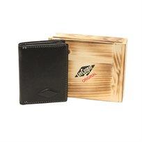 Lee Cooper ארנק עור ׳מיני׳ בצורת ספר -קיים בשחור/חום כהה/חום בהיר נא לציין צבע-מגיע ללא קופסת עץ קופסא רגילה