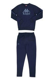 KAPPA נוער// חליפת ניקי נוער נייבי