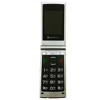 טלפון סלולרי Mercury דגם Senior 2G למבוגרים