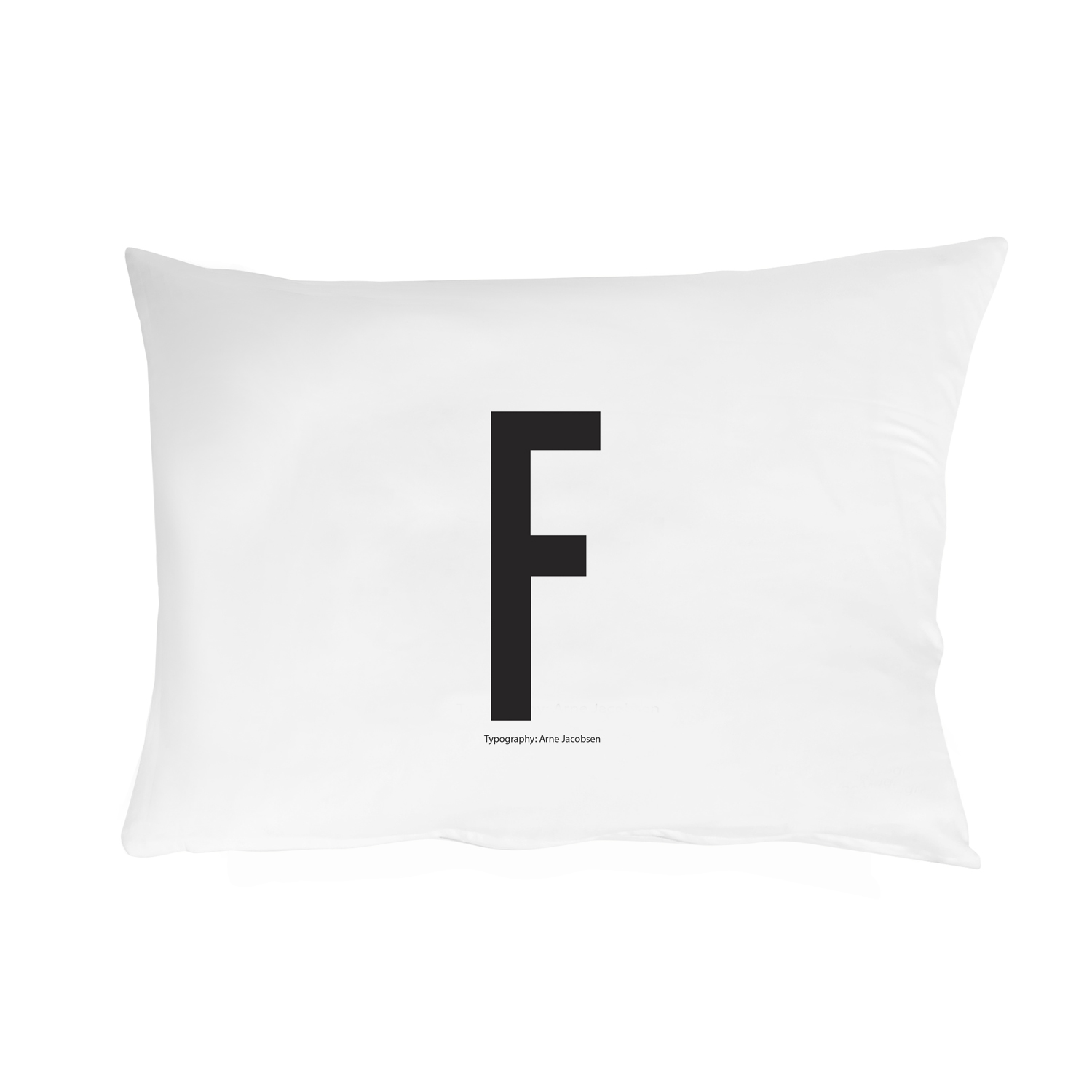Design Letters// Pillowcase With Personal Letter F