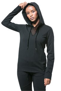 חליפת טרנינג לנשים - שחור