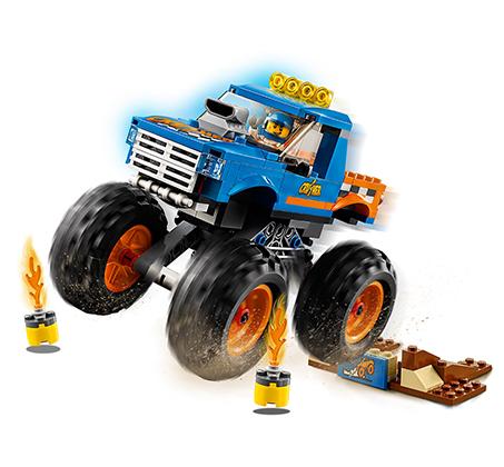 טנק משאית - משחק לילדים LEGO  - תמונה 2