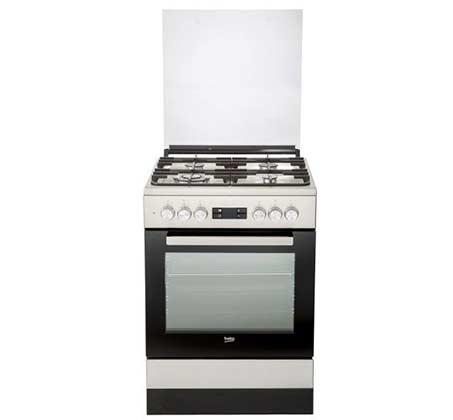תנור משולב כיריים נפח 65 ליטר בקו דגם FSM61330DXDSL