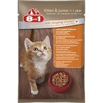 10 מעדן פאוץ' לגורי חתולים8In1 עם עוף