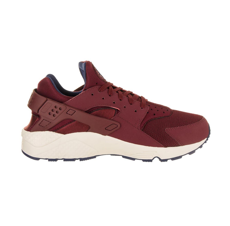 נעלי סניקרס לגבר נייקי 318429-608 AIR HUARACHE - בורדו