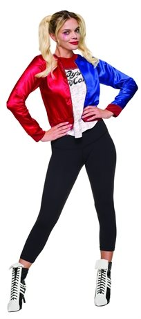 הארלי קווין - ז'קט מחובר לחולצה לנערות/נשים