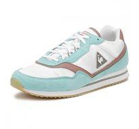 נעלי סניקרס LE COQ SPORTIF LOUISE SUEDE NYLON/GUM לנשים - לבן/טורקיז/ורוד