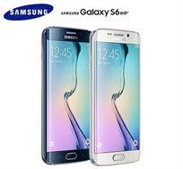 """EDGE Samsung Galaxy S6, בנפח 32GB,  מסך """"5.1, מצלמה 16MP, כולל מעבד Quad Core כפול ועוצמתי!"""