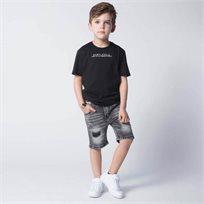 ORO חולצת טוניקה שחורה (8-3 שנים)