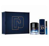 מארז לגבר הכולל בושם ודאודורנט + בושם בגודל מיוחד Pure Xs + מסקרה מתנה