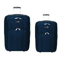 זוג מזוודות 2 גדלים SWISS במגוון צבעים לבחירה